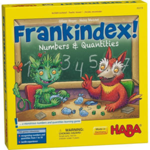 Buy Frankindex! Numbers & Quantities the board game online in NZ