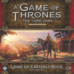 Buy A Game of Thrones: The Card Game (Second Edition) – Lions of Casterly Rock (Deluxe Expansion) the card game expansion online in NZ