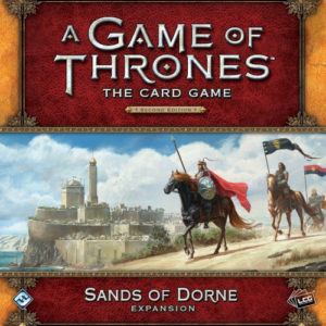 Buy A Game of Thrones: The Card Game (Second Edition) – Sands of Dorne (Deluxe Expansion) the card game expansion online in NZ