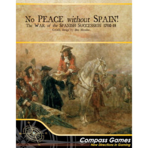 Buy No Peace Without Spain! The War of the Spanish Succession 1702-1713 the board game online in NZ
