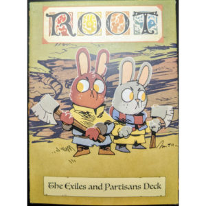 Buy Root: The Exiles and Partisans Deck the board game expansion online in NZ