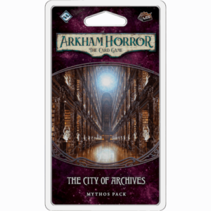 Buy Arkham Horror: The Card Game – The City of Archives: Mythos Pack the card game expansion online in NZ