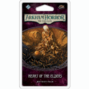 Buy Arkham Horror: The Card Game – Heart of the Elders: Mythos Pack the card game expansion online in NZ