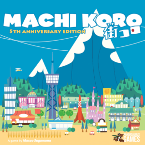 Buy Machi Koro (5th Anniversary Edition) the card game online in NZ