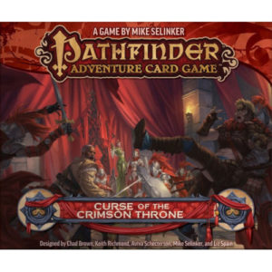 Buy Pathfinder Adventure Card Game: Curse of the Crimson Throne Adventure Path the card game expansion online in NZ