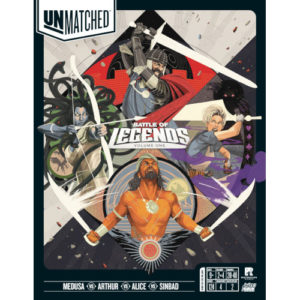 Buy Unmatched: Battle of Legends, Volume One the game online in NZ