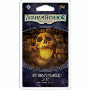 Buy Arkham Horror: The Card Game – The Unspeakable Oath: Mythos Pack the card game expansion online in NZ