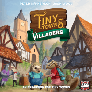 Buy Tiny Towns: Villagers the game expansion online in NZ