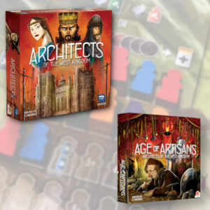Buy Architects plus Age of Artisans Bundle the board game bundle online in NZ