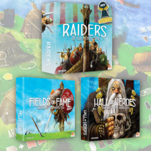 Buy Raiders plus Hall of Heroes and Fields of Fame Bundle the board game bundle online in NZ