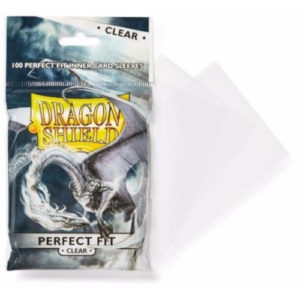 Buy Dragon Shield Perfect Fit Toploader Clear 60 micron - Pack of 100 (AT-13001) the game accessory online in NZ