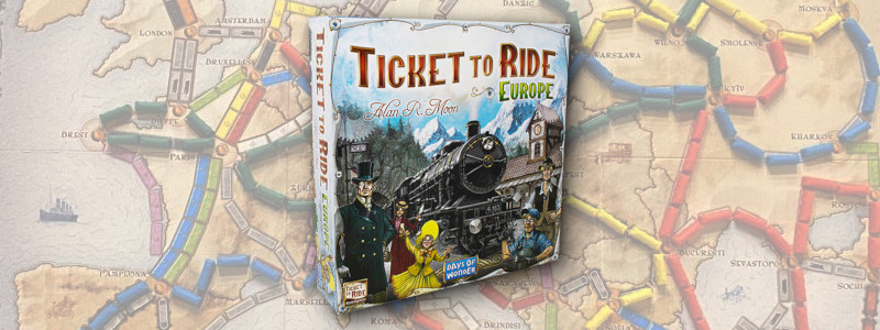 Ticket to Ride Europe - review of board game